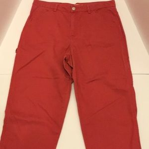 Women's Tommy Hilfiger red pants